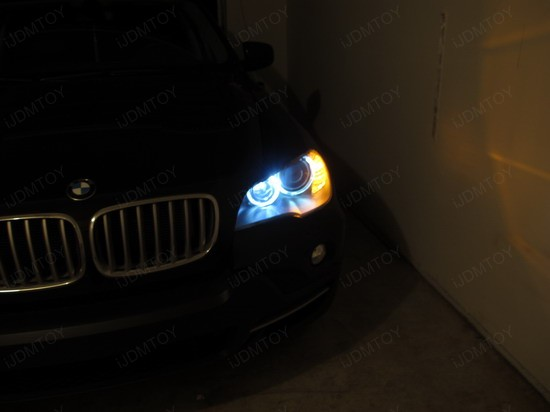 BMW - X5 - H8 - LED - Angel - Eyes - 1